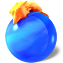 mozilla, Firefox RoyalBlue icon