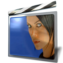 porno, Blue, slider, sexy, pono, Adult, film, sex, shutter DarkSlateGray icon