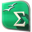 Openofficeorg-math MediumSeaGreen icon
