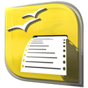 Openofficeorg-printer Gold icon