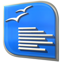 Openofficeorg-writer DodgerBlue icon