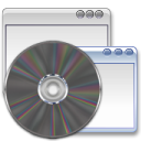 package, Application DimGray icon
