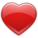 love, Favourite, Heart, package Firebrick icon
