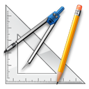 ruler, graphics, school, geometry, Design, measure, package DarkSlateGray icon