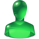 green, user ForestGreen icon