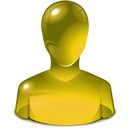 yellow, user Olive icon