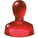 red, Guy, user Maroon icon