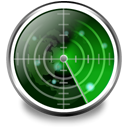 Wifi, Nearby, radar DimGray icon