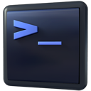 Xconsole DarkSlateGray icon