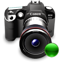 mount, reflex, lens, canon, Camera DarkSlateGray icon