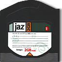 Disk, jaz DarkSlateGray icon