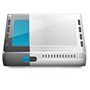 Modem Gainsboro icon