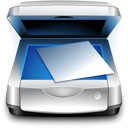 Scanner SteelBlue icon