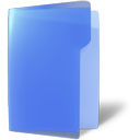 Folder, Blue, open, Close CornflowerBlue icon