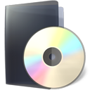 Folder, Cd DarkSlateGray icon