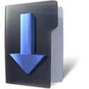 download, Folder DarkSlateGray icon