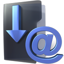 inbox, Folder, download, Email DarkSlateGray icon