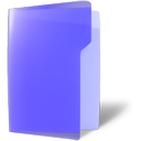 open, violet, Folder MediumSlateBlue icon