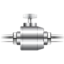 Pipe, plumbing, tap, Gas DimGray icon