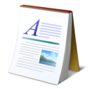 Text, document, Abiword GhostWhite icon