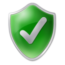 Clean, shield, Check ForestGreen icon