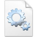 Dll, Filetypes WhiteSmoke icon