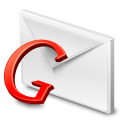 red, google, gmail Icon