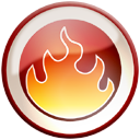 nero, fire IndianRed icon