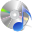 disc, music, sound, itunes DarkGray icon