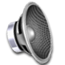 music, speaker, sound DimGray icon