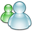 Instant messenger, Messenger Black icon