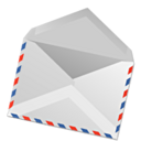 envelope, Email LightGray icon