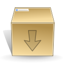 download, Box, inventory Silver icon