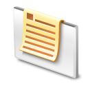 open, mail White icon