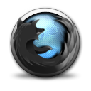 Browser, mozilla Gray icon