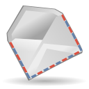 envelope, mail Silver icon