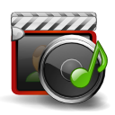 Multimedia Gray icon