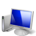 screen, monitor, Computer Silver icon