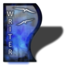 Ooo-writer Black icon