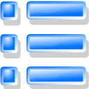 taskbar, list DodgerBlue icon