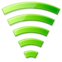 network, wi-fi, signal, Wifi Black icon