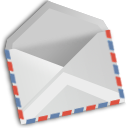 envelope, Xfmail LightGray icon