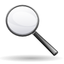 magnifying glass, zoom, search, Find Black icon