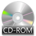 mount, Cdrom DarkGray icon