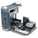 motherboard, power mac, Apple, g Black icon