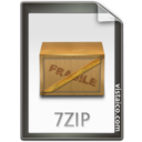 7z, 7zip Gainsboro icon