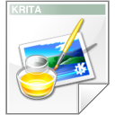 Krita, Kra WhiteSmoke icon