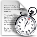 Clock, stopwatch, Schedule, cron, File Gainsboro icon