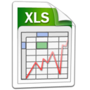word, xls, microsoft, Excel Black icon