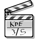movie, film, Multimedia LightGray icon
